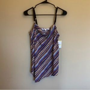 NWT Rachel Roy patterned tank top